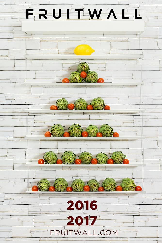 Tazón de frutas FRUITWALL
