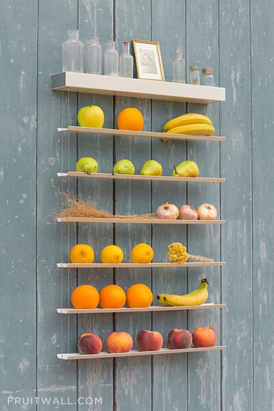 Fruteros originales que ayudan a ordenar la cocina